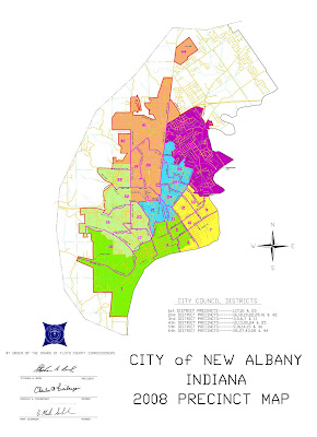 Albany Indiana Map.Na Confidential Revamped Council District Map