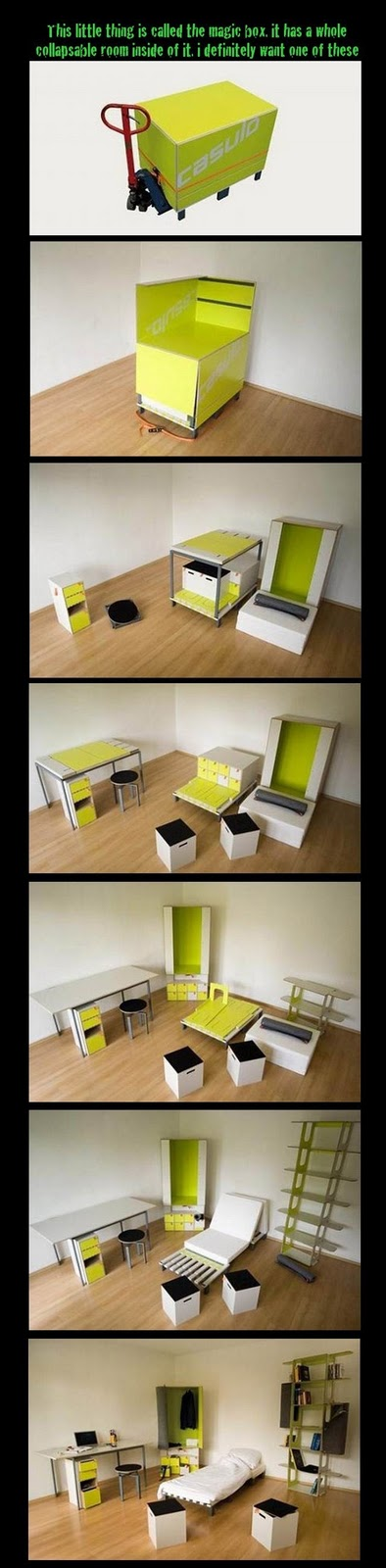 Pixelhostel casulo room in a box by marcel krings - Room in a box casulo ...