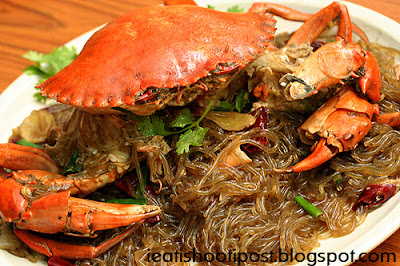 Under The Angsana Tree: Unusual Crab Dishes