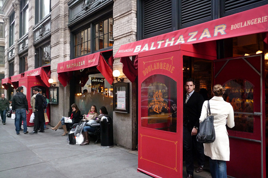 New york the balthazar restaurant for Balthazar reservations