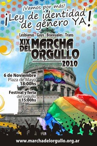 Marcha del Orgullo LGBT 2010 Buenos Aires