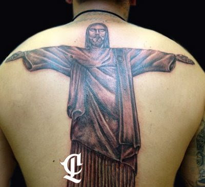 stock photo : Sketch of tattoo art, Jesus Christ
