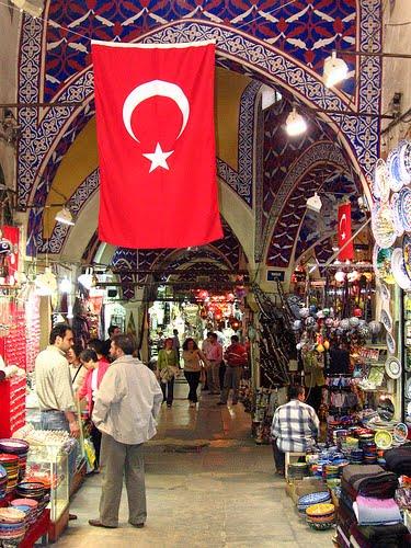 Baño Turco Mas Antiguo Estambul:El Gran Bazar (Kapalıçarşı en turco) de Estambul (Turquía) es el