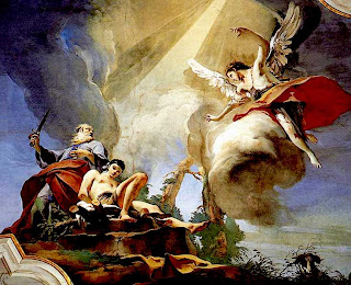 The Sacrifice of Isaac, by Giovanni Battista Tiepolo, 1726-29