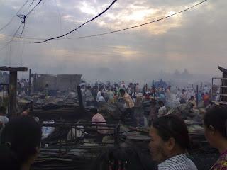 psar leu fire 2008, sihanoukville cambodia