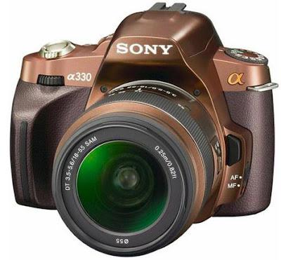 Sony A330 10.2 MP DSLR Camera