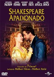 Filme Shakespeare Apaixonado