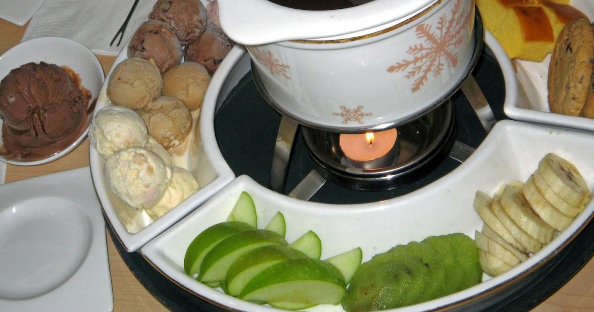 bucaio: Haagen Dazs Chocolate Fondue