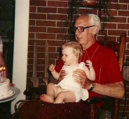 John & his grandbaby