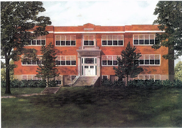 Greenville High School (built 1924 - torn down in 1976)