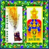 Premio Blog de Oro y Premio Dardo, Junio 2009