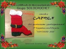 Diploma del tejijuntas de diciembre