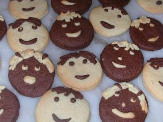 Sevimli kurabiyeleri sevgili arkadaşım hülya nın blogunda