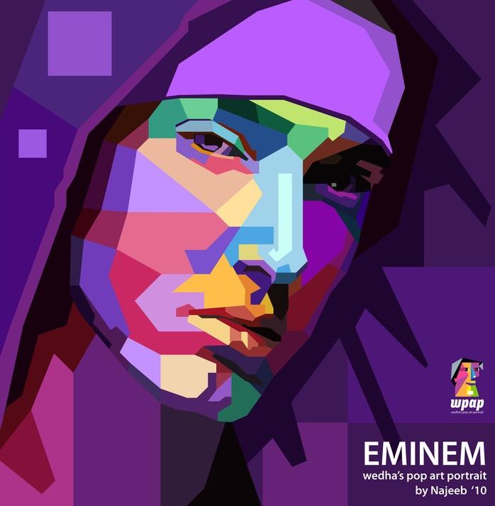 EMINEM ( by najeeb muhammad ) ~ passion of art