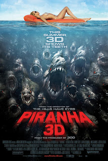 Piranha 3D (2011) poster Movie Review