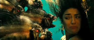 Piranha 3D CGI piranhas