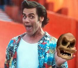 Ace Ventura, Alas poor Yorick