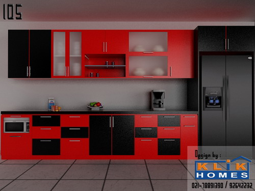Harga Kitchen Set Dapur Hitam Orange Bagian 2