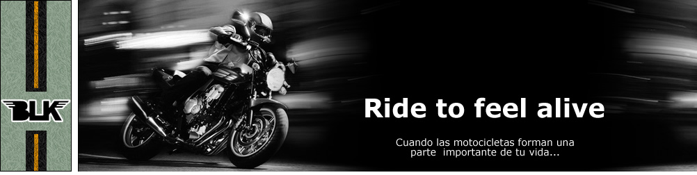 Ride to feel alive