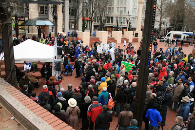 Portland Oregon: Christians, Jews, and Muslims Rally in Support of Islam