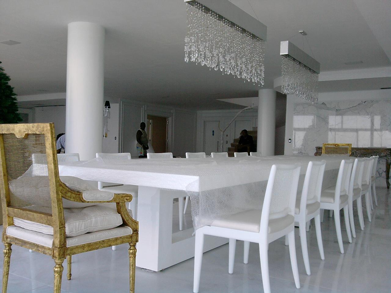 Cadeiras Para Sala De Jantar Luxo ~ Cadeira e Mesa Poltronas para Sala de Jantar