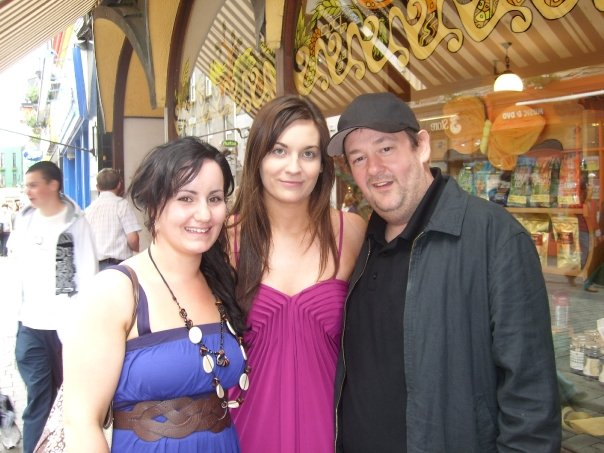 Emma, Me and Johnny Vegas!