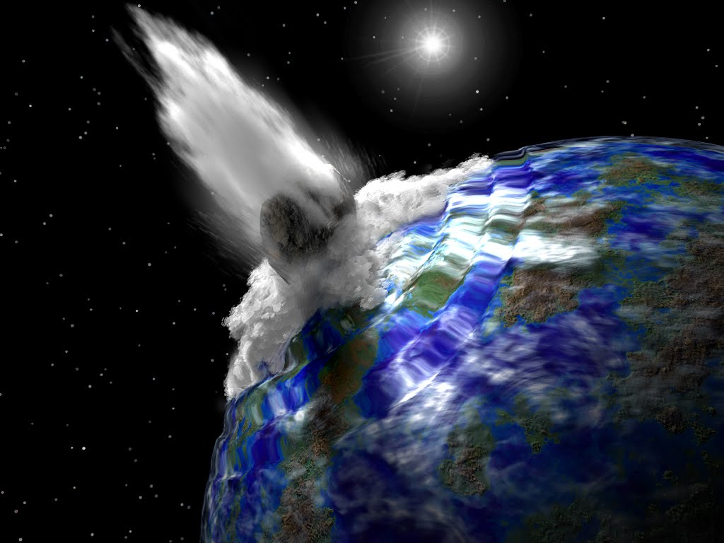 Meteor Crashes On Earth