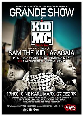 Show Kid MC Luanda, Angola