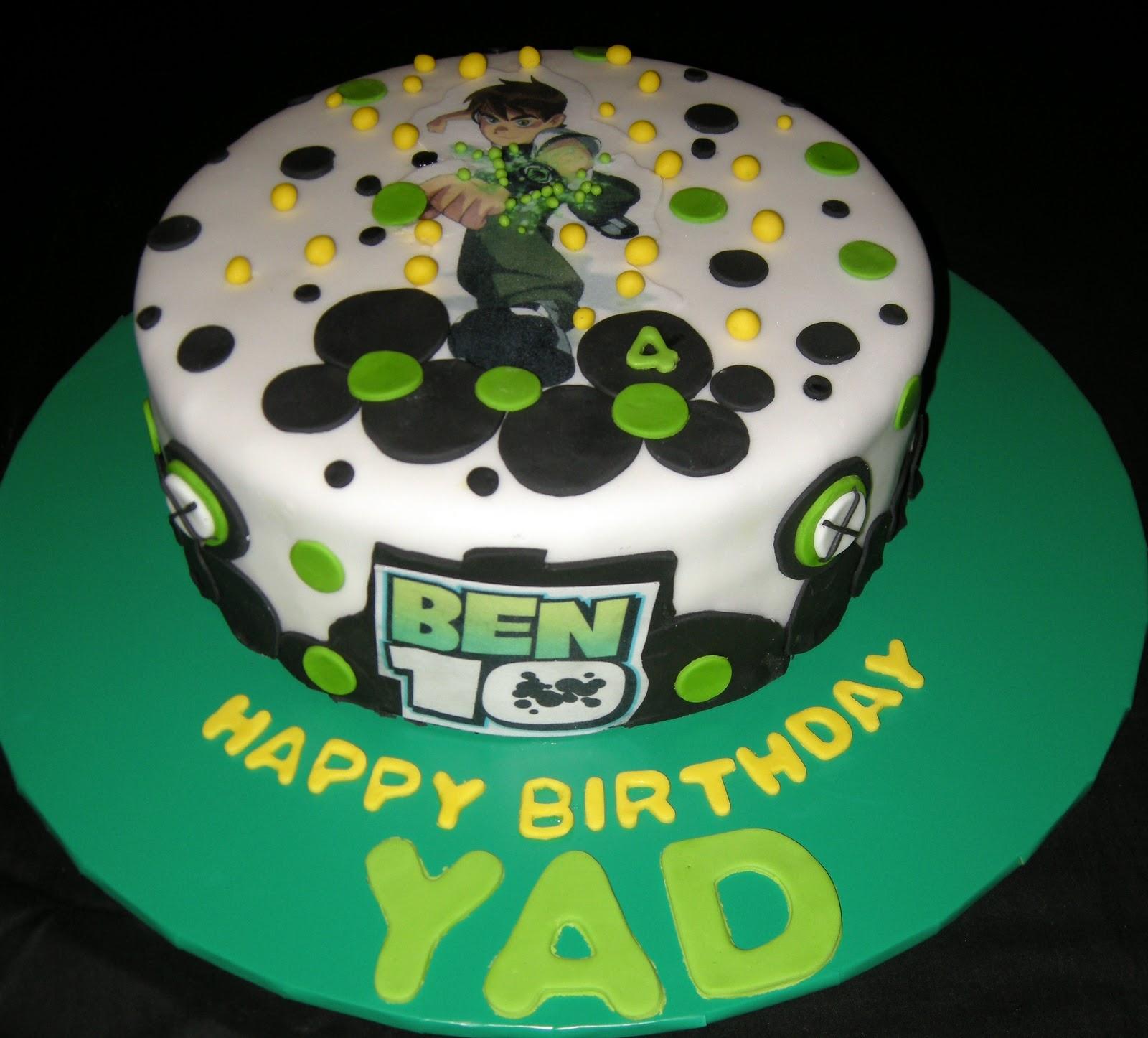 Harshis Cakes Bakes Yads Ben 10 Cake