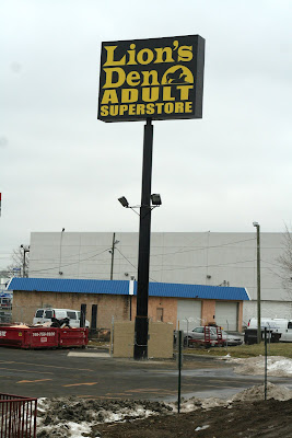 Area residents are angry about the opening of a Lion's Den adult book and ...