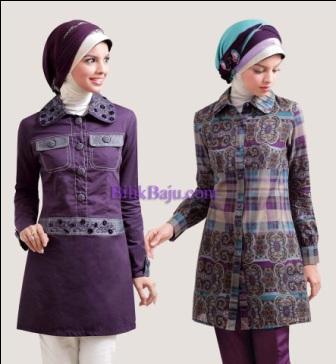 desain baju muslim setelan,berbagai model fashion musli