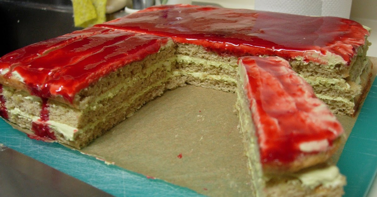 Raspberry Opera Cake Recipe