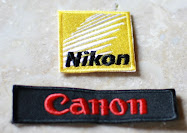 CANON & NIKON Badges for sale! $5 each! Include Sticking to your items for FREE