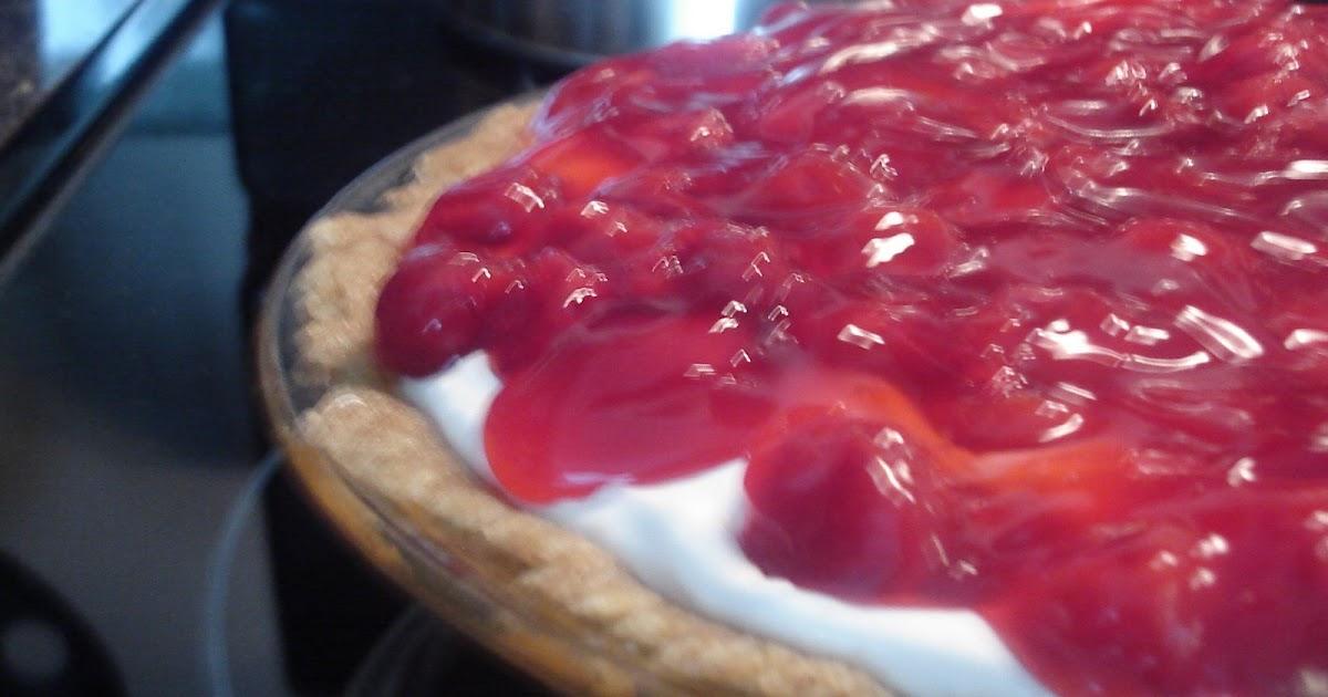 Cherry Cheesecake Fluff With Angel Food Cake Recipe