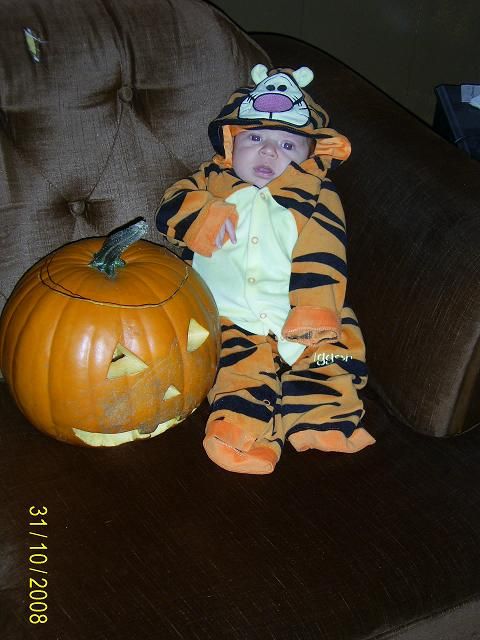 Tre's First Holloween