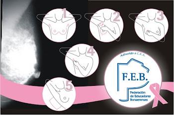 FEB y Febos luchan contra el cancer de mamas