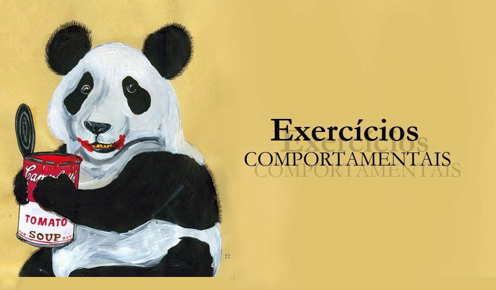 exercícios comportamentais