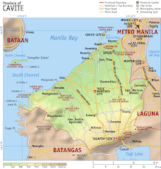 Map of Cavite
