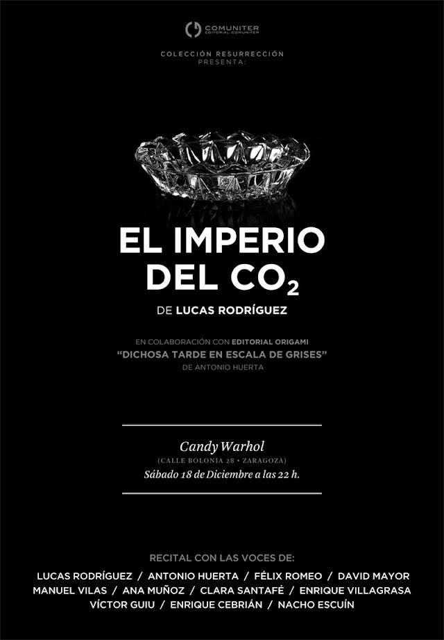 presentación del libro El Imperio del CO2 de Lucas Rodríguez Luis