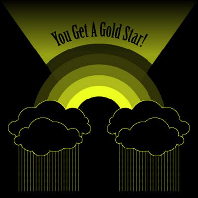 gold star. You Get A Gold Star