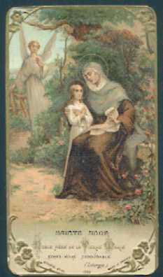 Memorare of St. Anne