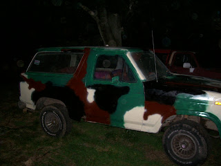 1982 Ford Bronco, camoflauge