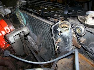 Chevette 4 cylinder radiator