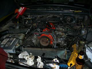 Chevette Old radiator