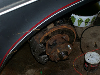 Chevette Lug and Caliper