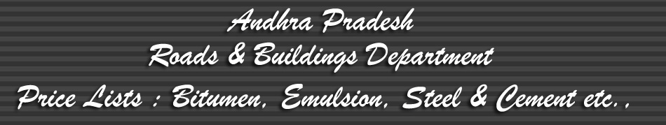 Andhra Pradesh Roads & Buildings Department