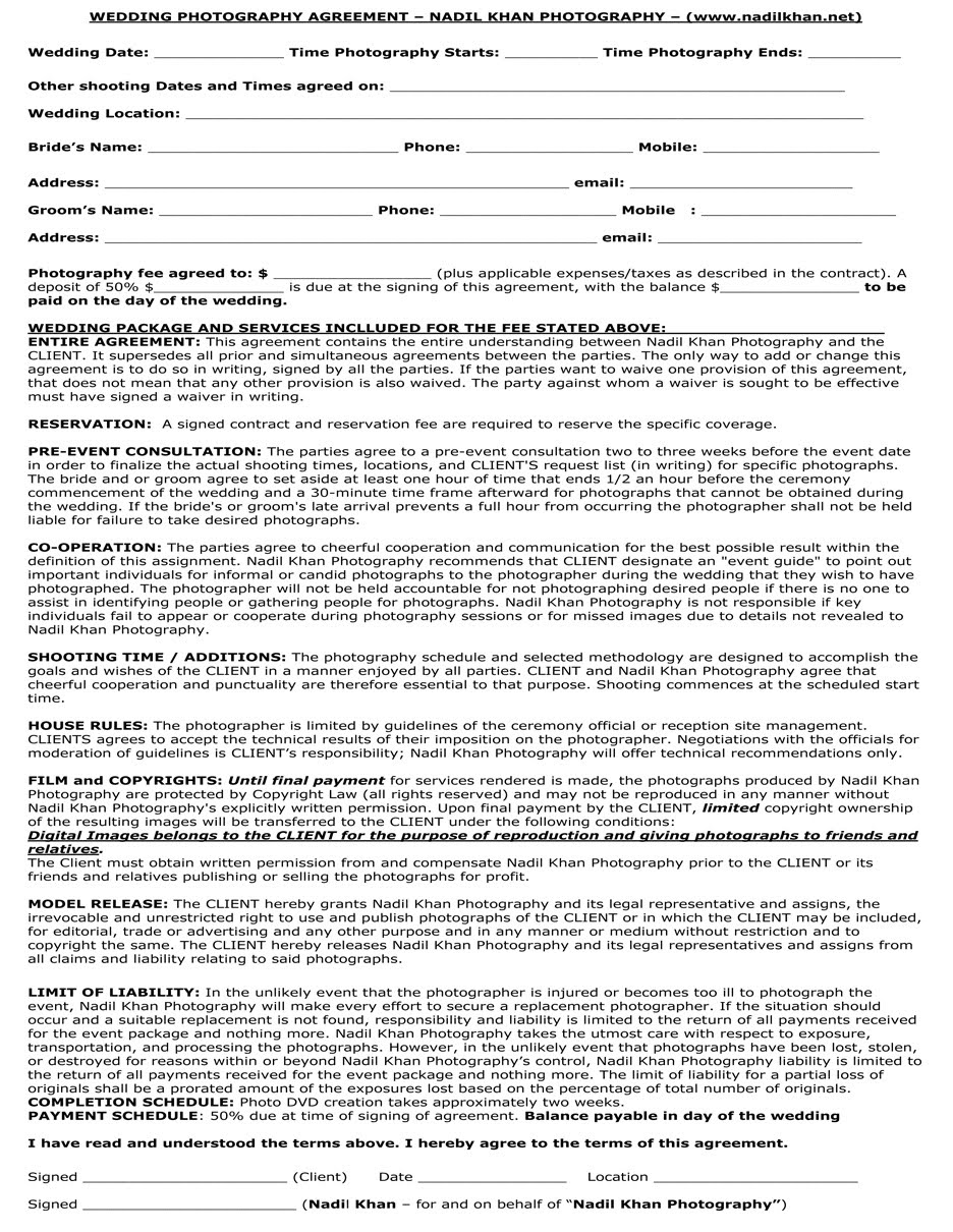 Free contract agreement to print http www pic2fly com free contract