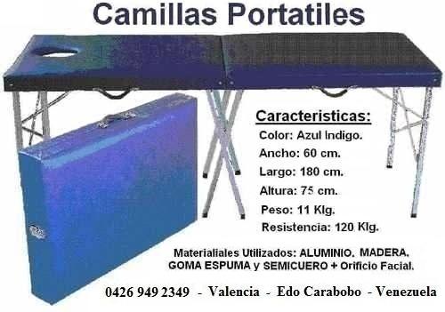 Camillas Portatiles