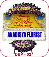 bunga papan untuk acara perkawinan