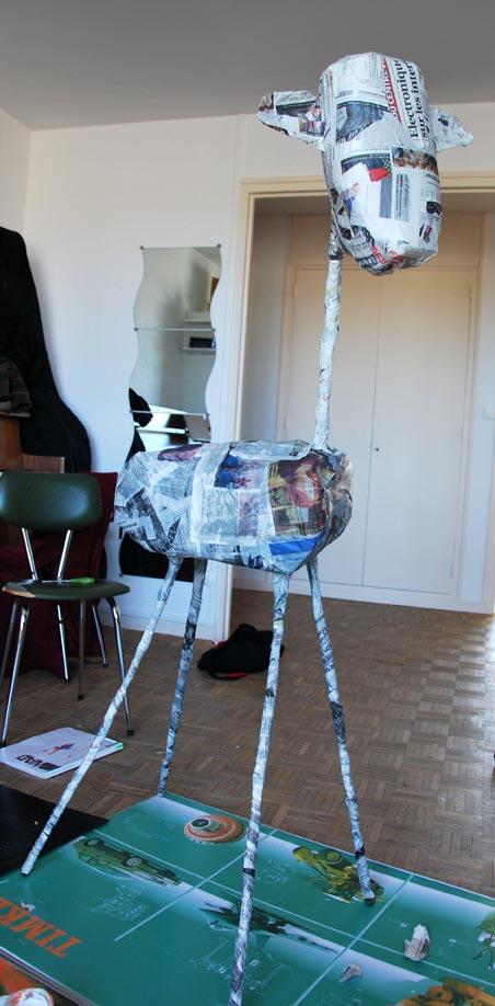 B b girafe fait ses premiers pas ptit blog d 39 une for Prix d une girafe a poncer
